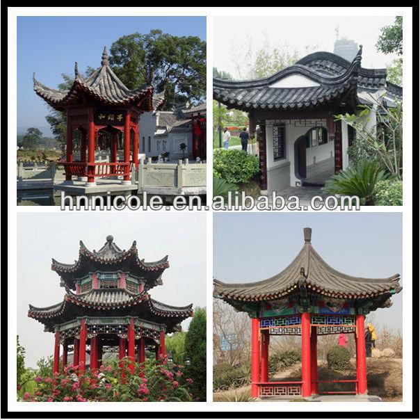 Asian style japanese garden house japan buddhist temple roof tiles for sale buy japanese - Japanisches gartenhaus ...