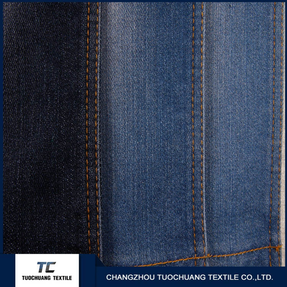 Thick spandex denim fabric for jeans cost of denim fabric