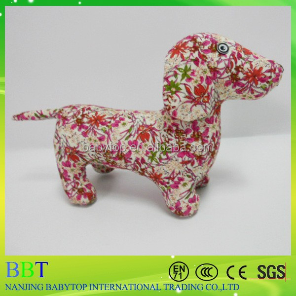 2015 custom print organic cotton printing cloth dog toy, custom print cotton fabric animal toys wholesale