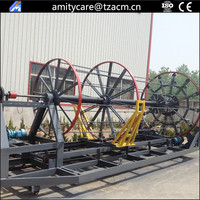 reinforced concrete cement culvert pipe cage welding machine