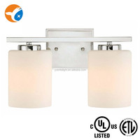 ETL Listed Glass Wall Sconce LED Bathroom Fixture
