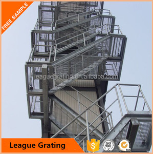 Hot sales outdoor stair tread steel grating