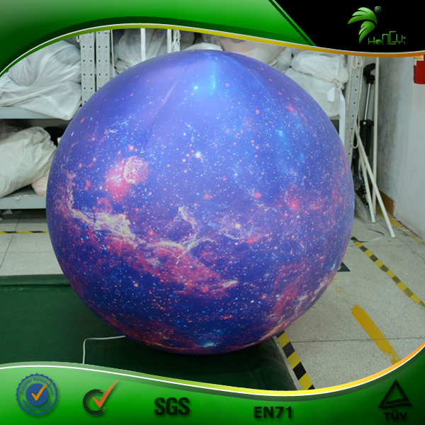 Full Printing Solar Inflatable Planet Balloons Helium Inflatable Sphere Advertising Balls