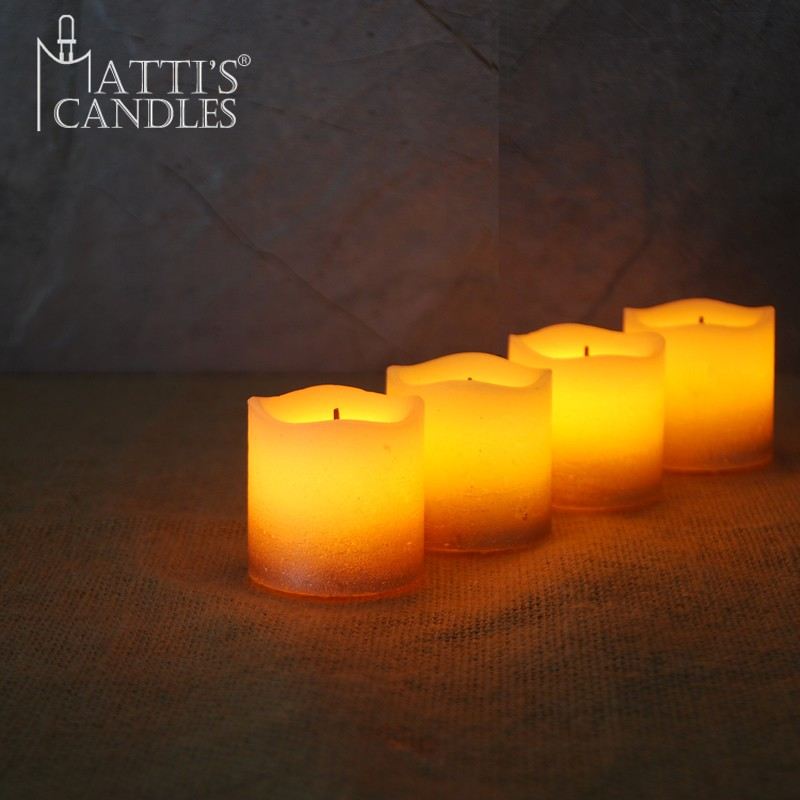 Hot sale wholesale remote tear dripping wax led tea light candle
