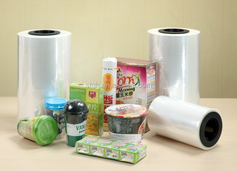 Hot sale 5-layer POF shrink plastic film(SGS APPROVED)