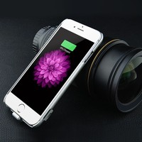 2000mAh power bank 5.5 inch battery case phone cover for phone 6 case
