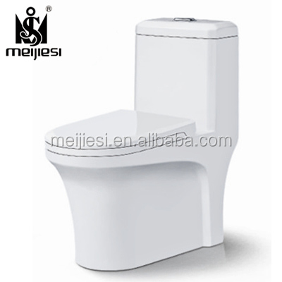 Cheap Ceramic Siphon Dual flush Floor Mounted sanitary ware one piece toilet WC square