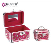 Professional hard side aluminum beauty cosmetic Makeup Case
