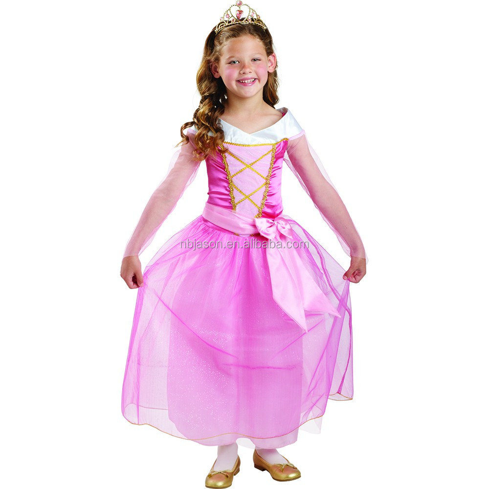 New Little Girl Party Wear Western Birthday Party Princess Dress For Girl Of 7 Years Old