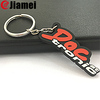 manufacturer Custom soft rubber fancy alphabet numbered letters keyring