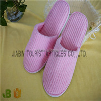 Cheap wholesale Coral Fleece Indoor winter warm slippers/Colorful hotel slippers EVA sole/High quality hotel amenities