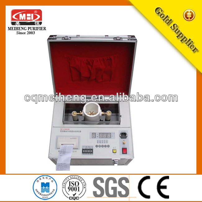 New Excellent MEIHENG Most popular transformer oil breakdown voltage tester