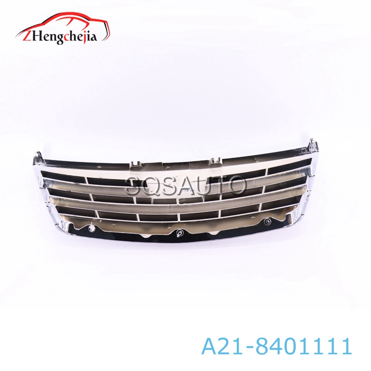 Auto spare parts car front air intake grille for Chery A5 A21-8401111