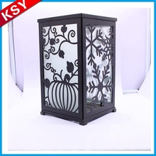 Professional Manufacturer Best Brand Metal Tealight Candle Holders Black Lantern Ring For Sale