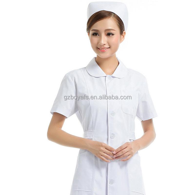 Words... super, Mature men in nursing uniforms can