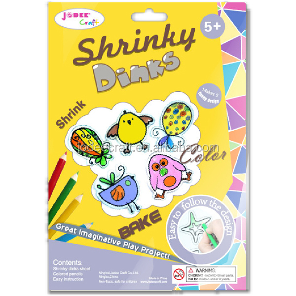 Easy craft ideas shrinky dinks heat shrink art and craft