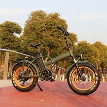 400W electric folding bike for adults dirt battery 48v 20ah Instead of walking