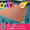 Indoor athletic volleyball court floor mats volleyball floor prices