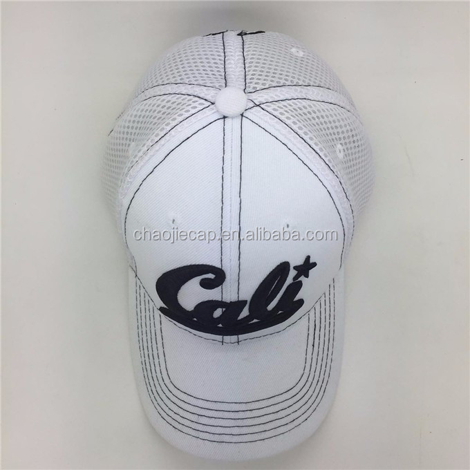 3d embroidery mesh baseball cap hat