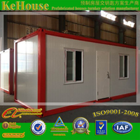 excellent heat insulation 20ft container house used storage,shop,warehouses