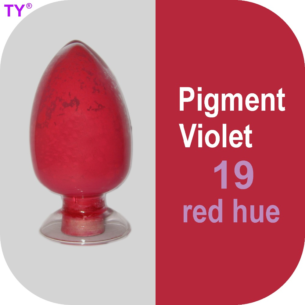Pigment Violet 19 (Red Hue) <strong>Colored</strong> Powder with High Tinting Strength