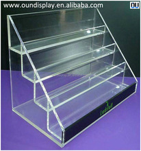custom 3D synthetic hair eyelash extension kit display case acrylic