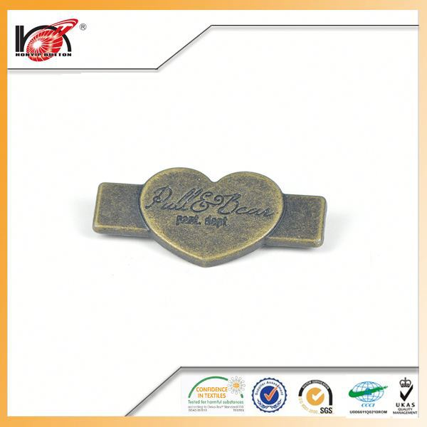 Accessories button shoe buttons personlized 3d logo pvc clothes patch with velcro for gorment