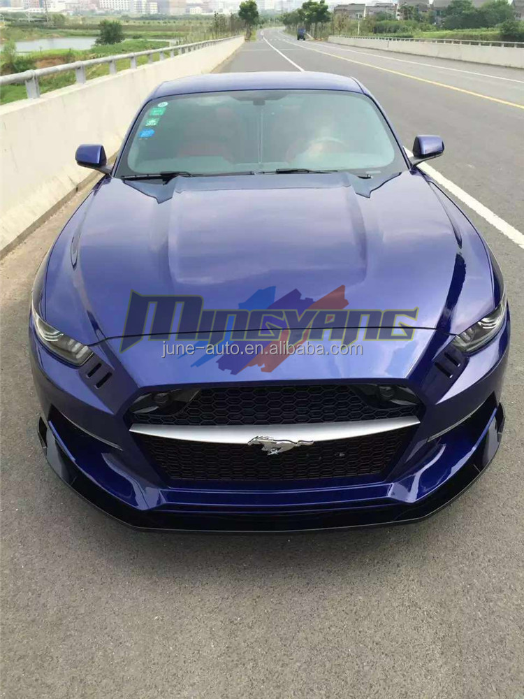 For FORD MUSTANG tuning rocket bunny bodykit diffuser bumper