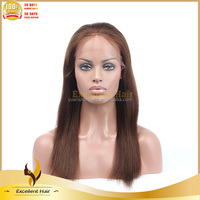 AAAAA Indian Tight Blonde Human Hair Deep Curly Wave Full Lace Wigs