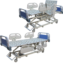 Economy adjustable folding massage 3 functions electric hospital bed