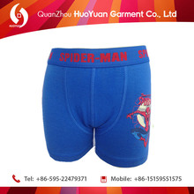 Wholesale Famous Cartoon Printed Young Boys Underwear/Boy Boxer Slip Briefs