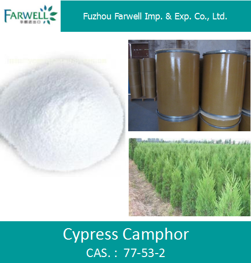 Farwell Pure Natural Cypress Camphor 77-53-2 Plant extract