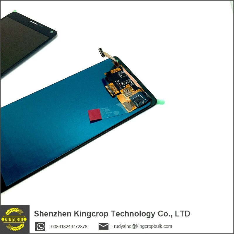 mobile phone lcd for samsung galaxy note 4 edge lcd