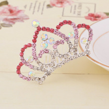 wholesale colored beauty pageant crowns and tiaras HG00005