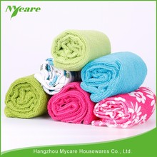 Anti-bacteria microfiber glass cleaning cloth