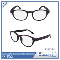 more professional western style round frame reading glasses