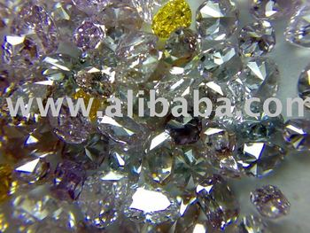 214.61 Carat Lot VVS to SI1 0.16 to 2carat Pink purple red yellow greenish blue color enhanced diamonds