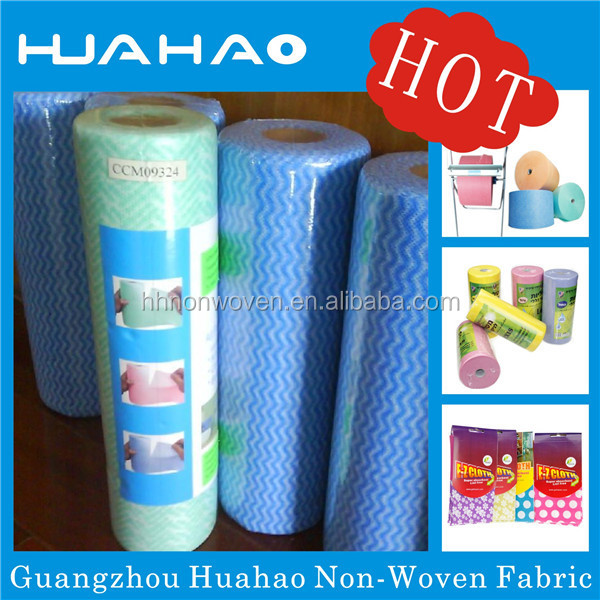 Disposable household CE ISO marked nonwoven wipe cloth