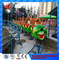 Amusement rides train set Roller Coaster Train for adults sale
