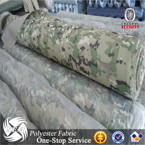Anti-Infrared Flame-Retardant 1000D Nylon Multicam Cordura Fabric For Military Clothes