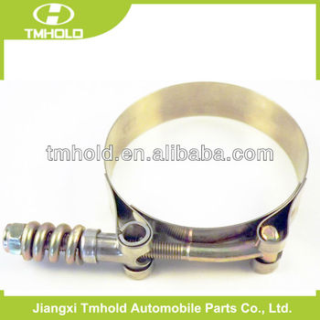 T-spring heavy duty pipe clamp with 19mm bandwidth