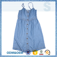 Creative design team fashion style sexy spaghetti strap girl's dress,boutique suspender skirt,light blue girls dress slip