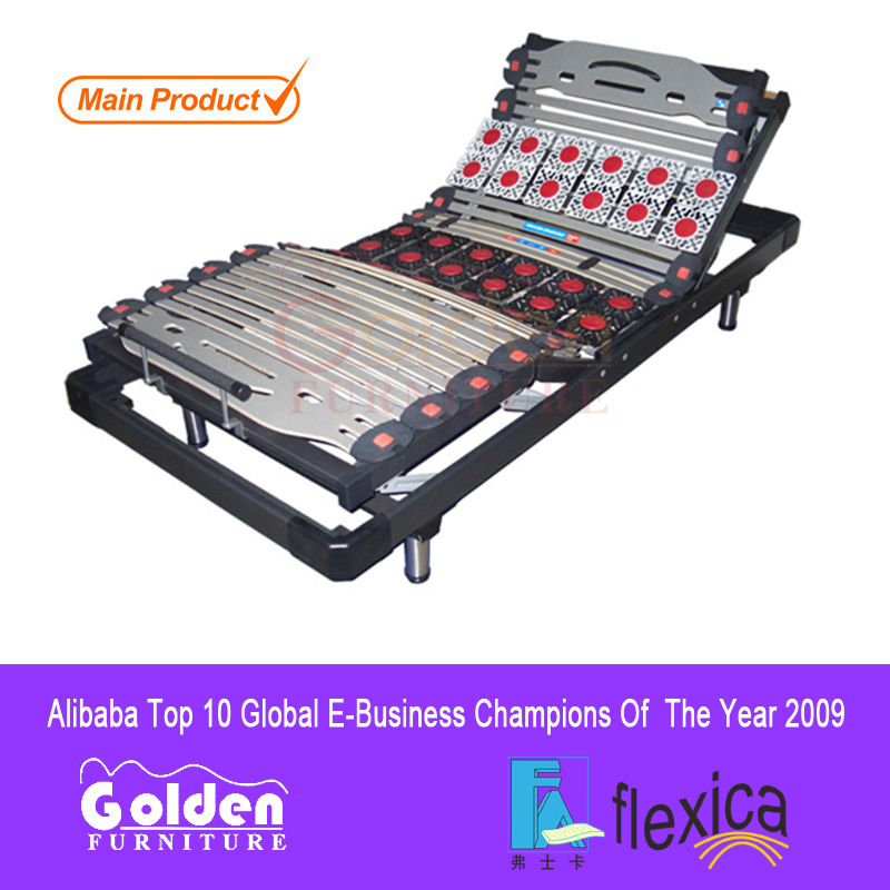 Alibaba Hot sale electric massage up and down electric bed