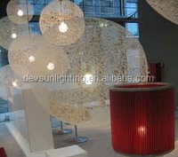 Hotel Lamp/Rattan Pendant Lamp/Moooi Random Pendant Light from China Manufacturer (DP1053-30)