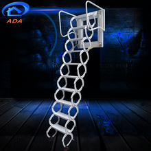 Wall Hanging Foldable Outdoor Metal Stairs