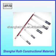 Aluminum grout injection packer