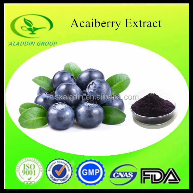 100% Pure Natural Acai Berry Extract with Anthocyanin 5%-70%