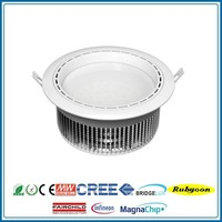 High power 36W 240*106 mm 8 inch Recessed round led ceiling light