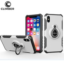 New Design Dual Layer Mobile Phone Accessories Kickstand Case For iPhone X,Combo Armor Cover For iPhone 6 7 8 Plus TPU PC Case