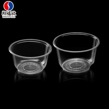 Trade assurance disposable bowl plastic for party transparent salad disposable plastic bowl with lid
